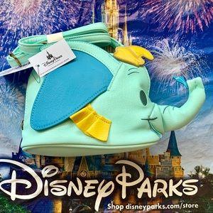 New Disney Parks Dumbo Shaped Crossbody Bag